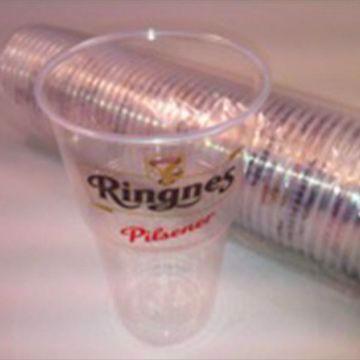Ringnes Plastglass