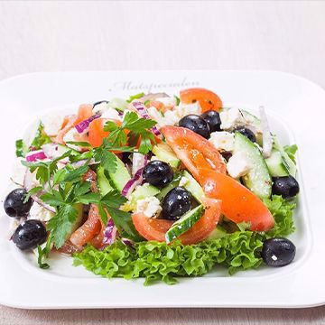 Salat vegetar