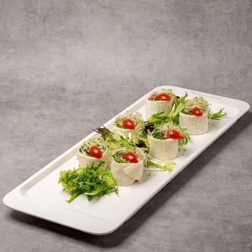 Bilde av Wrap med serranoskinke, philadelphiaost og soltørkede tomater