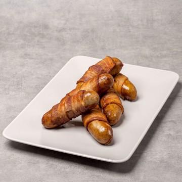 Bilde av Tapas ostepølse med chili og bacon