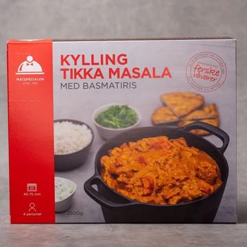 2,5 kg. Kylling Tikka Masala